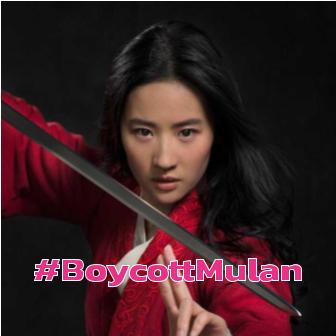 ดราม่าเดือด! ชาวเน็ตแห่ติดแฮชแท็ค #BoycottMulan หลัง Liu Yifei นักแสดงนำ Mulan ออกมาประกาศจุดยืนข้างตำรวจจากเหตุการณ์ความไม่สงบในฮ่องกง