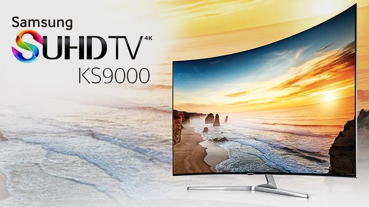 พรีวิว Samsung SUHD TV KS9000 ทีวีจอโค้งรุ่นล่าสุด ภาพสุดแจ่มด้วยเทคโนโลยี Quantum dot