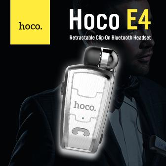 รีวิว  Hoco E4 Retractable Clip-On Bluetooth Headset หูฟัง Bluetooth แบบเก็บสายได้ในตัว