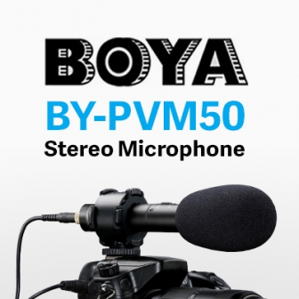 รีวิว  BOYA BY-PVM50 ไมค์ช็อตกันติดหัวกล้อง ไซส์เล็ก พกพาสะดวก บวกใช้งานง่าย