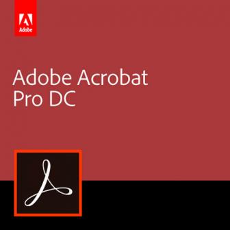 Adobe Acrobat Pro DC (Subscription License)