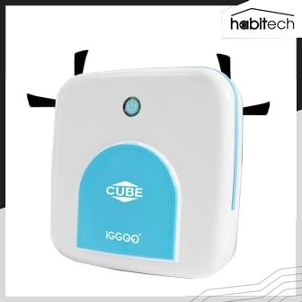 iGGOO Cube (หุ่นยนต์ดูดฝุ่น และถูพื้น ขนาดเล็ก ราคาถูกมากๆ)