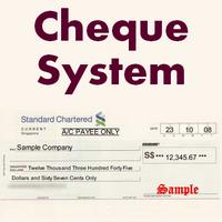 ChequeSystem (โปรแกรม ChequeSystem ทำเช็คภาษาอังกฤษ)
