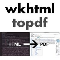 wkhtmltopdf (โปรแกรมแปลงเว็บเพจ เป็น PDF แบบพิมพ์คำสั่งเอง