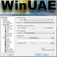 WinUAE (โปรแกรม WinUAE ลดสเปคเกมส์ เล่นเกมส์สเปคต่ำ)