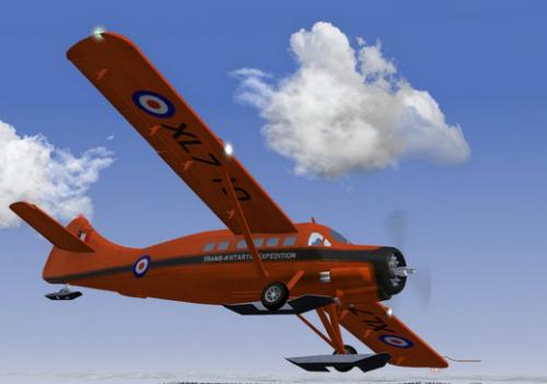 FlightGear (เกมส์จำลองขับเครื่องบินโดยสาร Flight Simulator