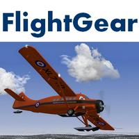 FlightGear (เกมส์จำลองขับเครื่องบินโดยสาร  Flight Simulator ฟรี)