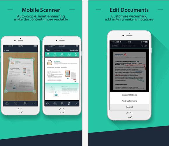 CamScanner (App เปลี่ยนโทรศัพท์ เป็น สแกนเนอร์) ดาวน์โหลดAppฟรี