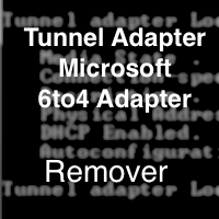 Tunnel Adapter Microsoft 6to4 Adapter Remover (โปรแกรมลบ 6to4 Adapter ฟรี)
