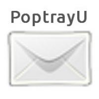 PopTrayU (โปรแกรม PopTrayU แจ้งเตือนหน้าจอ เมื่อมีเมล์ใหม่ ผ่านโปรโตคอล POP3 IMAP4)