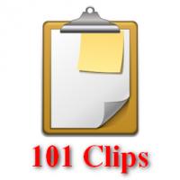 101 Clips (โปรแกรมจัดการ Clipboard ที่คัดลอกไว้ ฟรี)