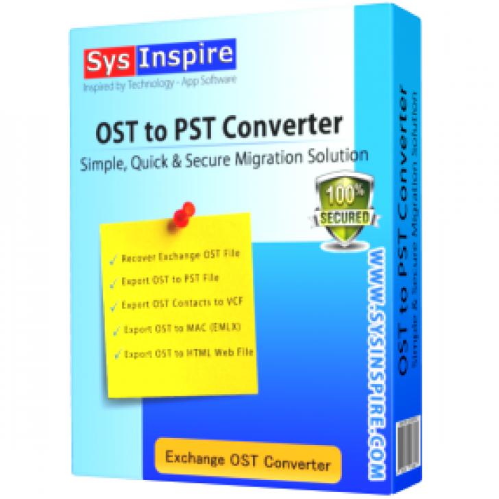 SysInspire (โปรแกรม SysInspire ดูแลจัดการไฟล์ Email แบบง่ายๆ บน PC)
