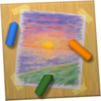 iPastels (โปรแกรม iPastels ระบายสีพาสเทล วาดภาพน้ำมัน และ ดินสอ บน Mac)